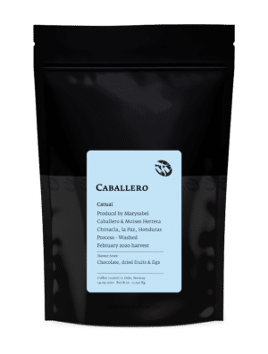 Caballero Catuai Honduras light roast coffee