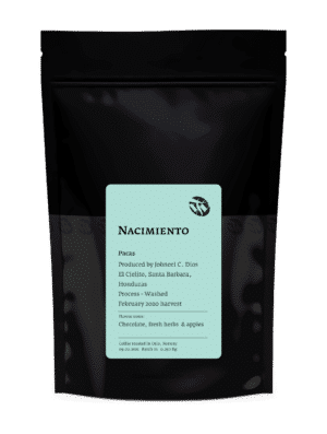 Nacimiento Pacas Light Roast Coffee Beans