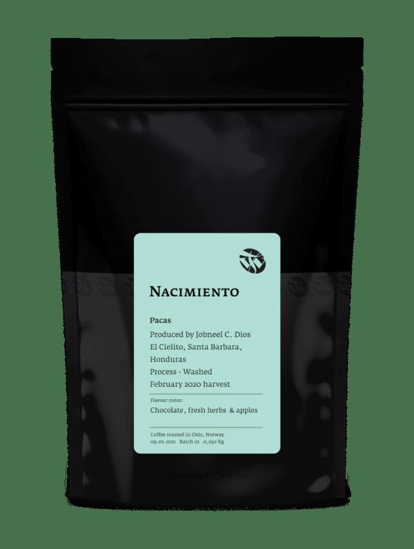 Nacimiento Pacas Filter Roast Coffee Beans