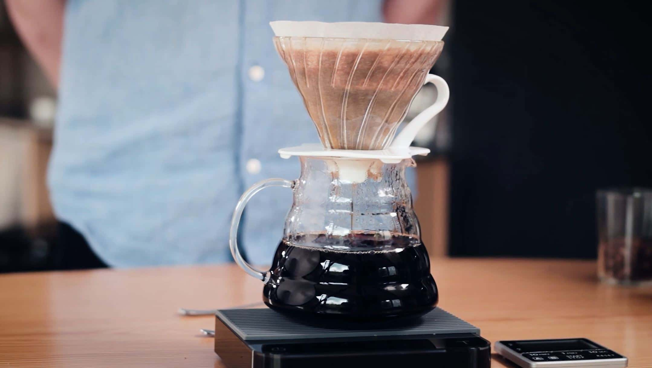 Coffee brewing guide