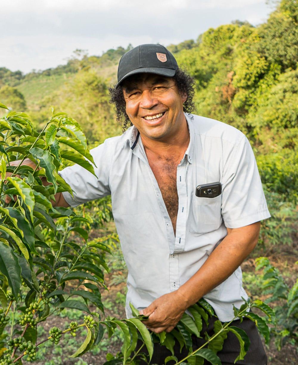 Elias from Finca Tamana Coffee Farm