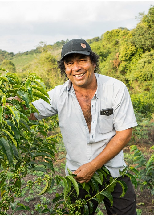 Elias from Finca Tamana Coffee Farm